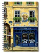 Cafe Van Gogh Spiral Notebook