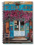 caffe del Aigare Spiral Notebook