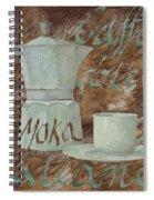Caffe Espresso Spiral Notebook