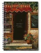 caffe Re Spiral Notebook