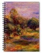 Cagnes Landscape 1908 Spiral Notebook
