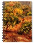 Cagnes Landscape 1919 Spiral Notebook