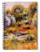 Cagnes Landscape 2 Spiral Notebook