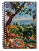 Cagnes Landscape With Woman And Child 1910 Spiral Notebook