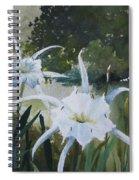 Cahaba Lilies Spiral Notebook