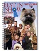 Cairn Terrier Art Canvas Print - Best In Show Movie Poster Spiral Notebook