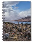 Cairns Of Loch Loyne Spiral Notebook