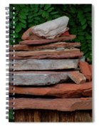 Cairns Rock Trail Marker Bluff Utah 01 Spiral Notebook