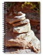 Cairns Rock Trail Marker Colorado Plateau Kanab Utah 01 Spiral Notebook