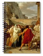 Caius Furius Cressinus Accused Of Sorcery Spiral Notebook