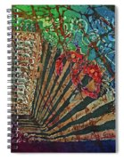 Cajun Accordian Spiral Notebook