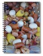 Cajun Cornucopia Spiral Notebook