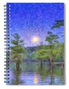 Cajun Moon Spiral Notebook