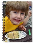 Cake Face Spiral Notebook