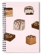 Cakes De02 Spiral Notebook
