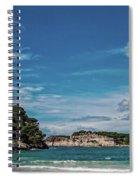 Cala Galdana Bay Menorca Spiral Notebook