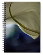 Cala Lily Curl Spiral Notebook