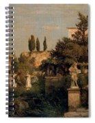 Calal926 Arnold Bcklin Spiral Notebook