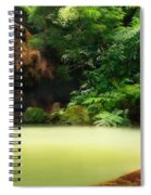 Caldeira Velha Thermal Pool Spiral Notebook