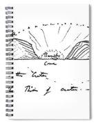 Caleta Tagusi, Galapagos In Darwins Spiral Notebook