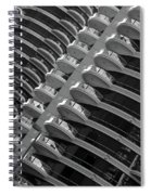 Calgary Condo Highr1se Spiral Notebook