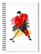 Calgary Flames Player Shirt Spiral Notebook