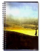 Cali Sunset Spiral Notebook