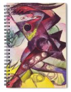 Caliban From Shakespeare The Tempest 1914 Spiral Notebook