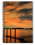 Calibogue Dock Spiral Notebook