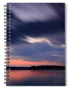 Calibogue Sound After Dark Spiral Notebook