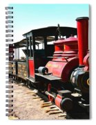 Calico And Odessa Rail Road Spiral Notebook
