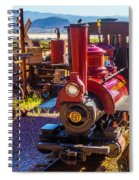 Calico Ghost Town Train Spiral Notebook