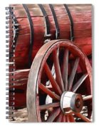 Calico Ghost Town Water Wagon Spiral Notebook