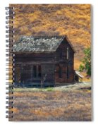 Calico Grass  Spiral Notebook