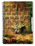 Calico Wall Spiral Notebook