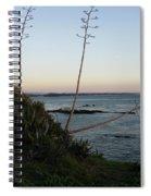 California At Twilight Spiral Notebook