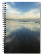 California Cirrus Explosion Spiral Notebook