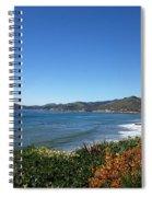 California Coast Line - Pismo Beach Spiral Notebook