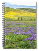 California Country Spiral Notebook