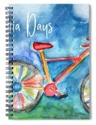 California Days - Art By Linda Woods Spiral Notebook