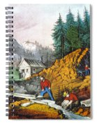 California: Gold Mining Spiral Notebook