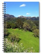 California Highlands Spiral Notebook