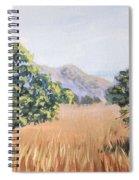 California Landscape. Fall Spiral Notebook