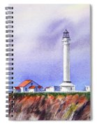 California Lighthouse Point Arena Spiral Notebook