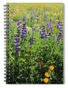 California Meadow Spiral Notebook