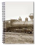 California Northwestern Railroad #30 4-6-0 Baldwin Locomotive Works Circa 1905 Spiral Notebook