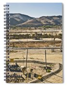 California Oil Field 14pdxl084 Spiral Notebook