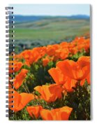 California Poppy Reserve Spiral Notebook