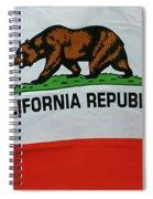 California Republic Flag Spiral Notebook
