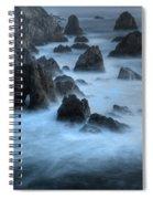 California Rocky Coastline Spiral Notebook